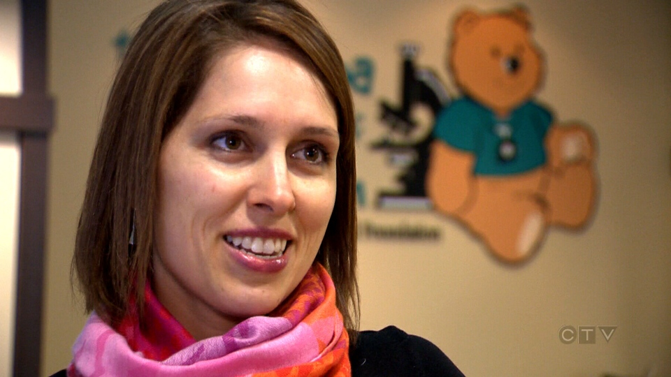 CHILD study researcher Meghan Azad speaks to CTV News about the CHILD study.