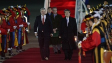Stephen Harper travels to South Korea