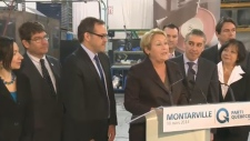 Pauline Marois economic team
