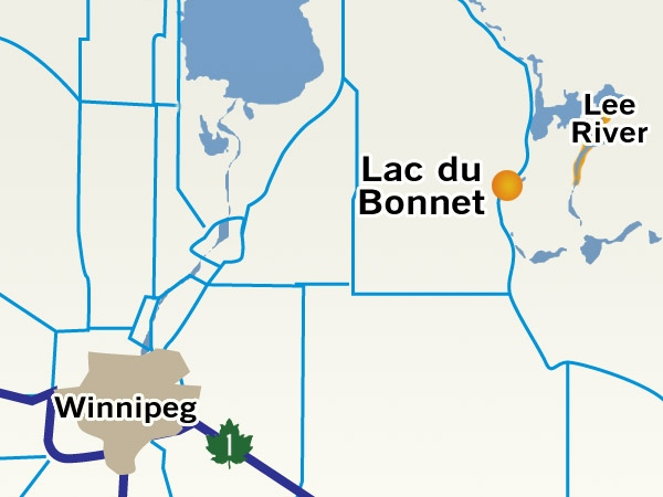 Human remains have been found along a river in cottage country along the Lee River near Lac du Bonnet.