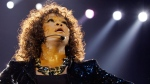U.S. singer Whitney Houston performs in London as part of her European tour on Sunday, April 25, 2010. (AP / Joel Ryan)