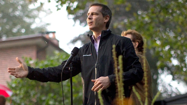 dalton mcguinty on the ontario election campaign trial