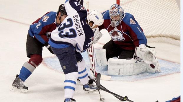 Winnipeg Jets Dustin Byfuglien