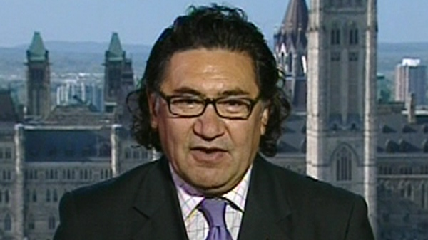 Romeo Saganash, MP for Abitibi James Bay Nunavut, is running for the leadership of the NDP (Sept. 29, 2011)