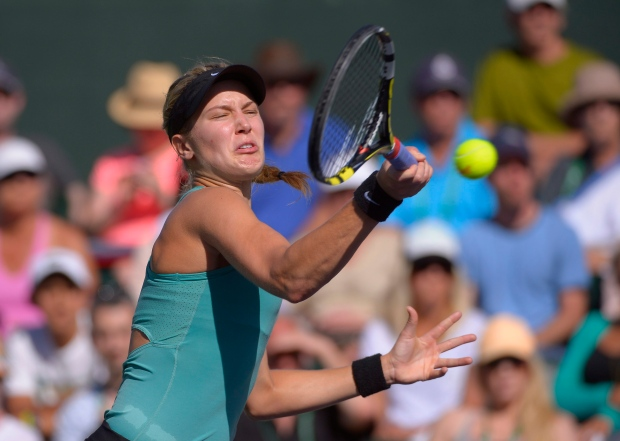 Eugenie Bouchard out of Indian Wells