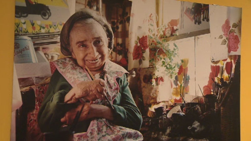 Staff at the Art Gallery of Nova Scotia say the Maud Lewis exhibit is the most visited space in the gallery. (CTV Atlantic)
