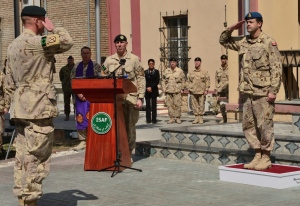 Canada's mission in Afghanistan formally ends