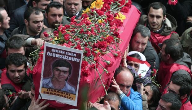 Berkin Elvan funeral