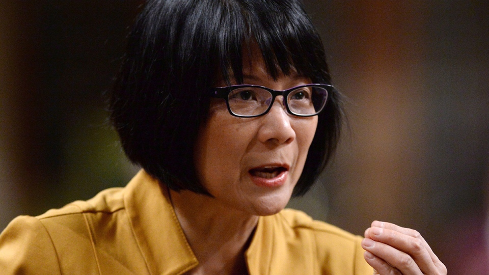 NDP MP Olivia Chow asks a question during question period in the House of Commons on Parliament Hill in Ottawa on Tuesday, Feb. 25, 2014. (Sean Kilpatrick / THE CANADIAN PRESS)