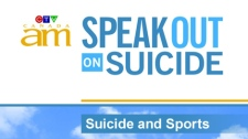 suicide, sports, series, Canada AM