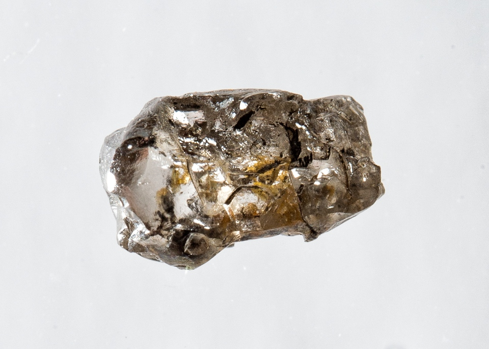 The $20 diamond that yielded the ringwoodite sample. (Provided/University of Alberta)