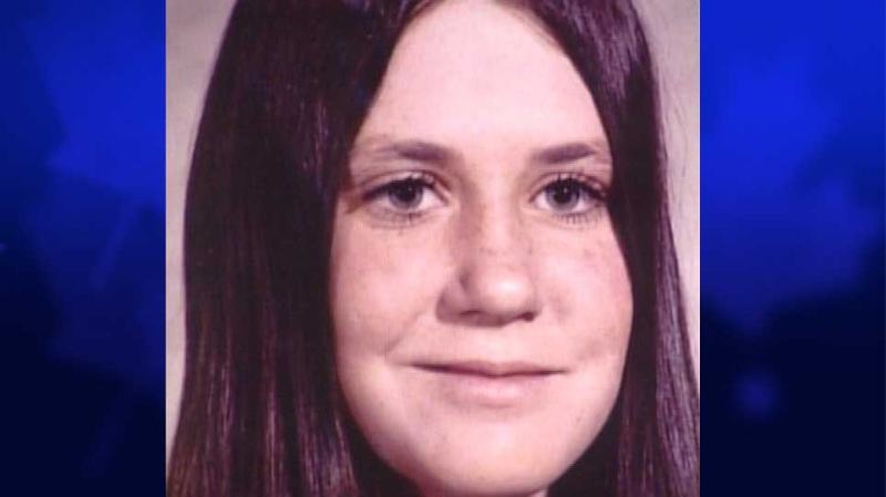 Karen Caughlin, 14, of Sarnia, Ont., who was killed in 1974, is seen in this file photo.