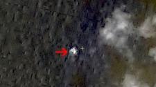 China Malaysia plane satellite image