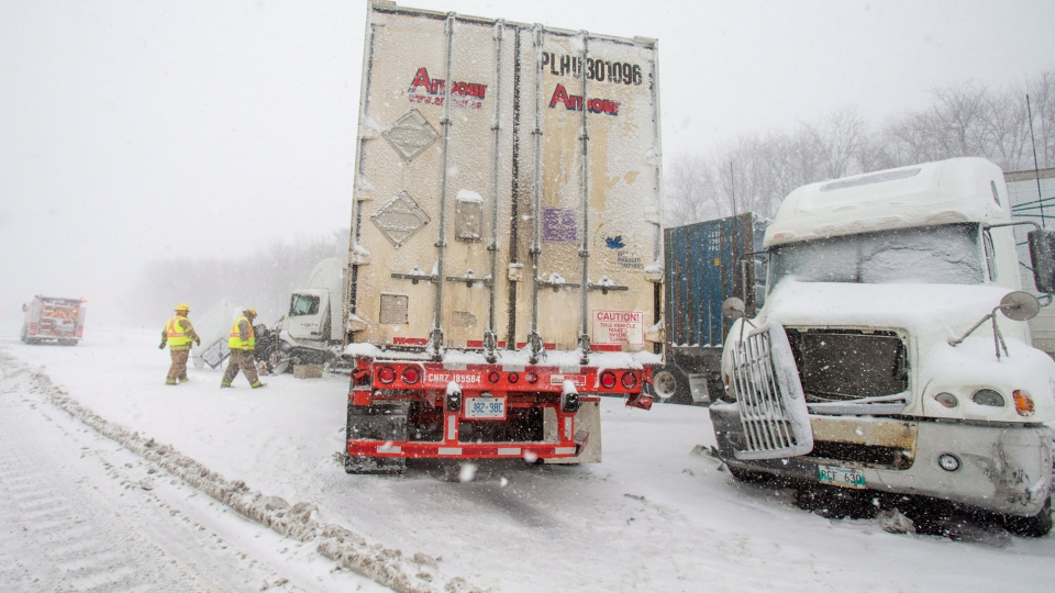 Winter Storm Southern Ontario: Treacherous Driving Conditions As Winter Storm Blankets
