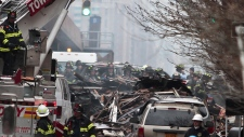 NYC apartment building explosion