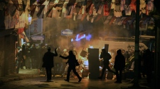 Demonstrators, police clash in Istanbul, Turkey