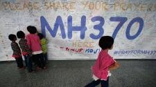 MH370 memorial at Kuala Lumpur airport