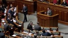 Ukraine parliament Crimea referendum