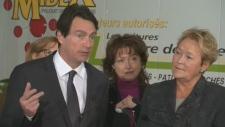 Pierre Karl Peladeau, Pauline Marois