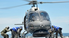 Search helicopter to search for Flight MH370