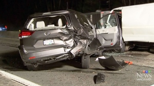 BC Coroners Service says 314 people, including drivers, passengers and pedestrians, died last year in motor vehicle incidents. (File photo)