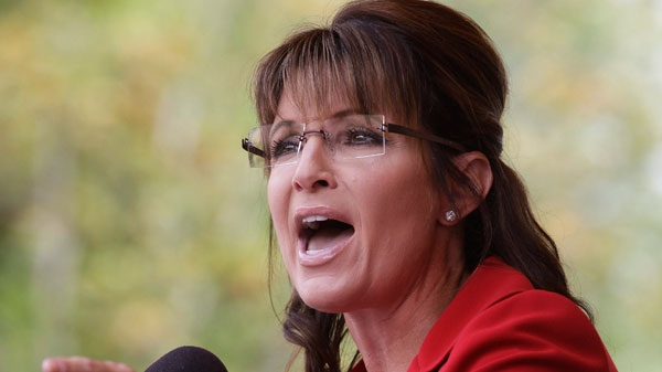 Sarah Palin, author, vengeful