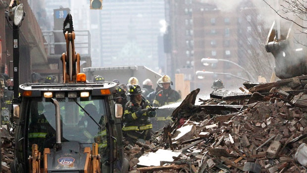 East Harlem building collapse