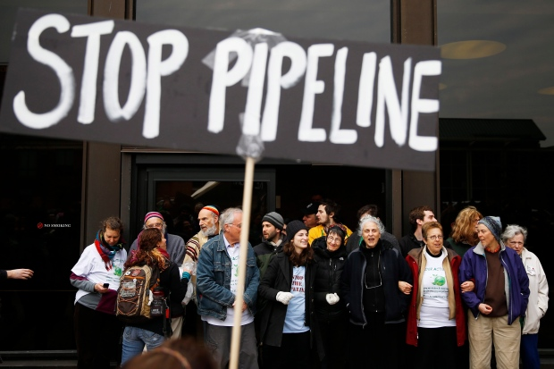 Keystone Pipeline protests
