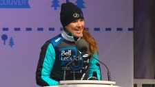 Clara Hughes kicks off Big Ride