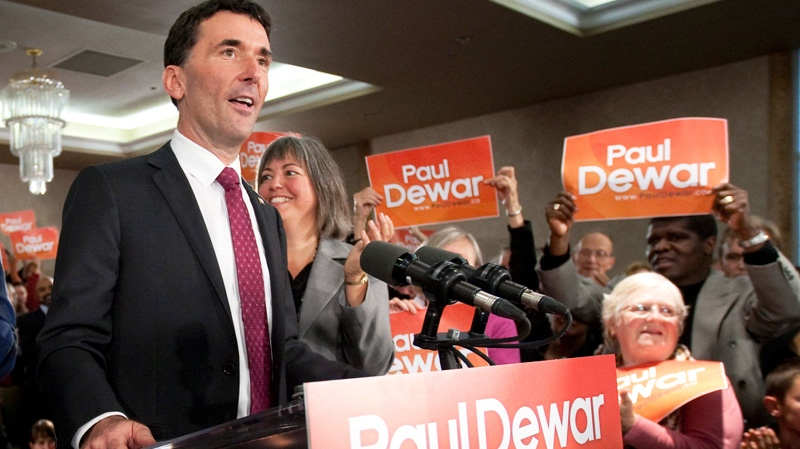 MP Paul Dewar announces he will run for NDP leadership