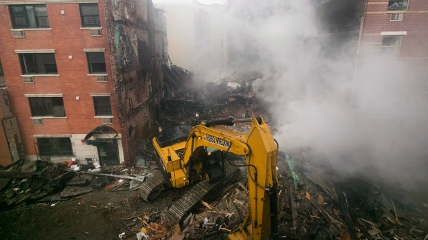 Investigators to search NYC explosion site