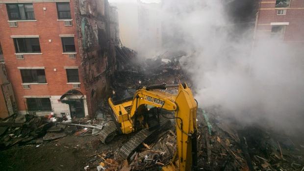 Investigators to search NYC explosion site