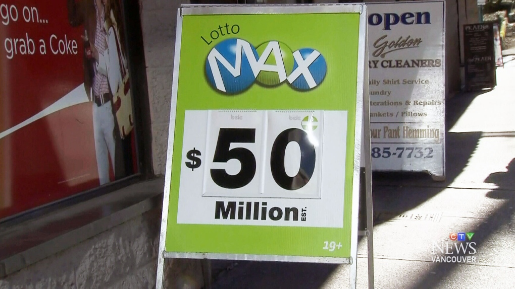 CTV Vancouver: $50M Lotto Max winner in Langley