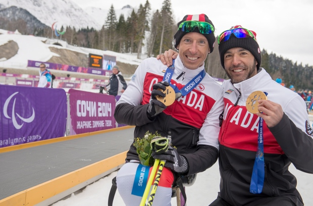Chris Klebl and Brian McKeever claim golds