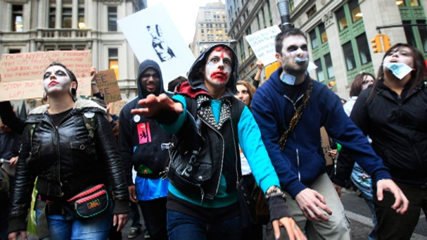 Occupy Wall Street, protest, organized