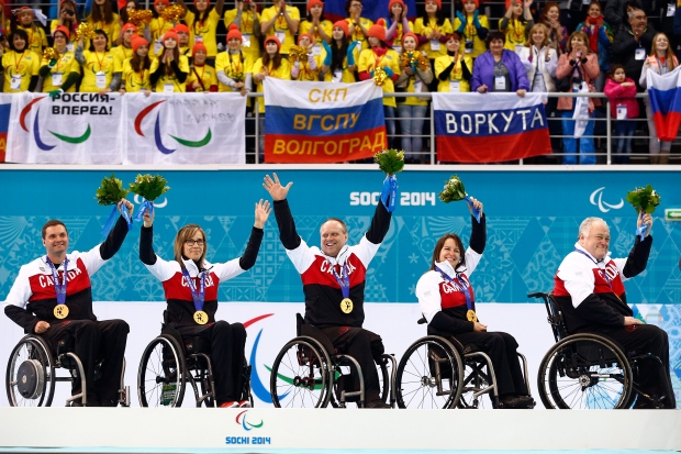 Canada wins curling gold at Sochi Paralympics
