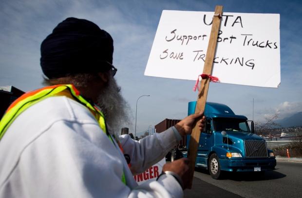 Truckers' strike