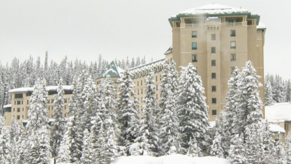 A father and son were found dead after being buried in an avalanche at Lake Louise, Atla.