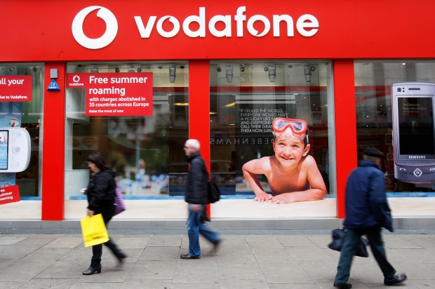 Vodafone Veritzon sell large cell phone