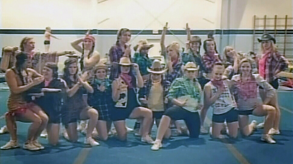 The University of Regina's cheerleading team will undergo cultural sensitivity training after its members dressed up as 'cowboys and Indians' and posted photos on social media.