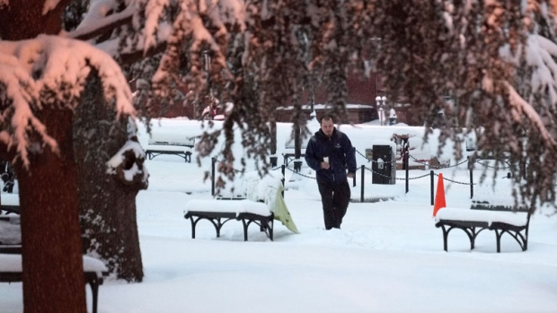 Winter storm his U.S. East Coast