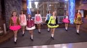 Irish dancers celebrate St. Patty's Day