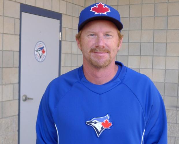 Blue Jays First Base Coach Tim