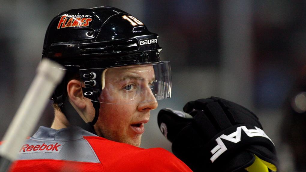Calgary Flames' Matt Stajan