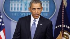 Obama speaks about Ukraine in Washington