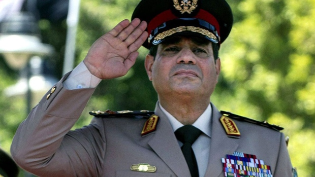 Egyptian military chief reshuffles troop commander