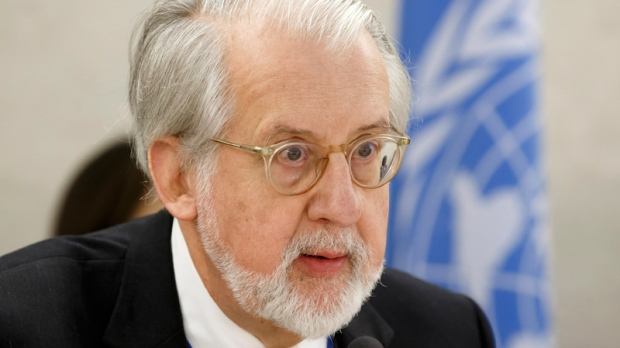 Commission of Inquiry on Syria's Paulo Pinheiro