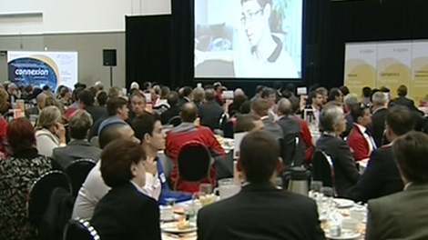 The Royal Ottawa Mental Health Centre launched their campaign with a breakfast on Tuesday, October 4, 2011.