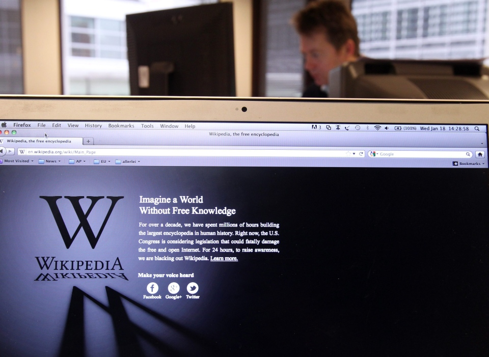 The University of California is the first American university to create a position devoted to improving Wikipedia and getting its own scholarship out to the public. (AP / Yves Logghe)