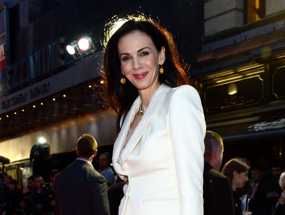 L'Wren Scott at the London Film Festival American Express Gala for in London, Oct. 18, 2012. ( Jon Furniss / Invision)